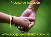 Adopciones a nivel judicial