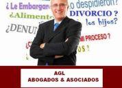 Auxilio legal - abogados especialistas civil, penal familia, laboral, otros - lima