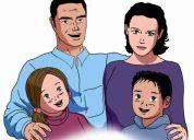 Divorcios filiaciÓn alimentos patria potestad adopciÓn patrimonio familiar, abogados perÚ