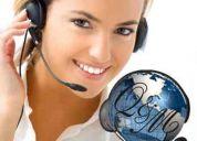 Ejecutivos de ventas en telemarketing