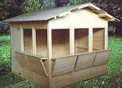 Casas prefabricadas de madera panduro
