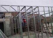 Sistema drywall & electricidad
