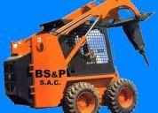 Bobcats perú, operadores para bobcat, operadores para minicargadores bobcats