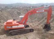 Operador de excavadora sobre orugas - necesito