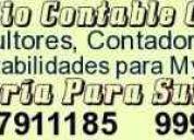 Asesoria contable laboral y tributaria para su empresa    7911185  - 999432428    823*3603