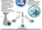 Instalacion de camaras de vigilancia (ip) - instalacion de antivirus -mantenimiento de pc.
