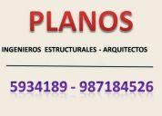 DiseÑo de planos para viviendas - ingeniero estructural