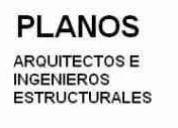 DiseÑamos viviendas / planos - ingeniero estructural / arquitectos