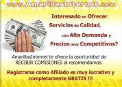 Se buscan promotores para las amarillas internet
