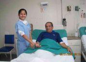 Cuidado a domicilio de enfermerÍa al adulto mayor