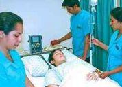 Enfermeras tecnicas y licenciadas geriatras especializadas en cuidados de pacientes