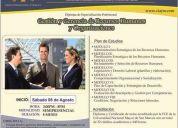 Diploma de especialización gestión de recursos humanos- unmsm
