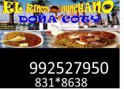 Cocinero con experiencia, comida criolla, pescados y mariscos