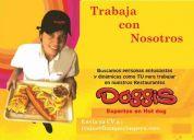 Nueva maraca fast food doggis busca jovenes