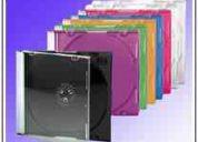Estuches cd, estuches dvd, estuches cd plastico, estuches cd acrilico, estuches cd folcote