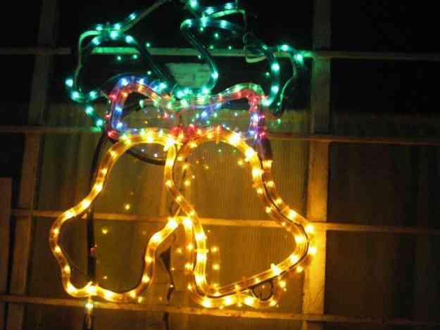 adornos navide os metalicos con luces cajaruro hogar
