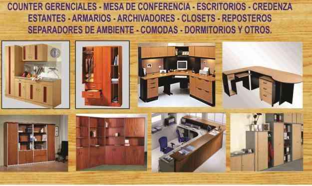 Muebles de melamina para oficina y hogar precios de for Muebles de oficina precios