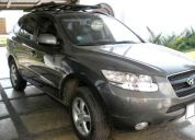Hyundai santa fe refull 4x2 2008 $ 21,900 negociable, 3 filas cuero, nacional