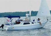 Lindo velero familiar 27 pies