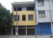 Vendo casa de tres pisos proyecto hotel