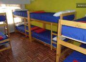 Carpe diem - backpackers & hostel  simon bolivar   in huaraz