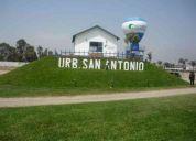 Vendo terreno 178 m2 urb san antonio de carabayllo esquina frente a parque