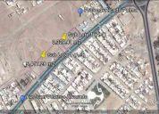 Terrenos comerciales 5,417 y 3,329 m2 (dos manzanas contiguas)