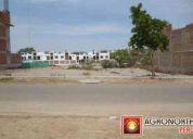 Venta de terreno urbano en piura 200 m2. en la laguna del chipe / inmuebles piura /