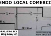 Vendo local comercial -  jr. cuzco 378.39m2
