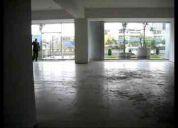 Alquilo local comercial 333m2 en centro empresarial san isidro