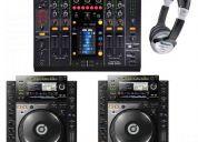 En venta nuevo 2x pionero cdj2000 y djm 800 mezclador de paquete