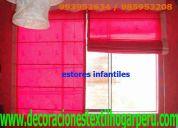 Estores-para-niños-infantiles 604*0750  : 993952634 cortinas, per