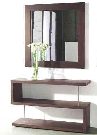 Muebles espejos y repisas flotantes la peca hogar for Muebles con espejo para sala