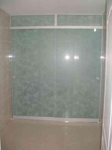 Mamparas de vidrio y aluminio puertas de ducha en vidrio - Mamparas vidrio templado ...