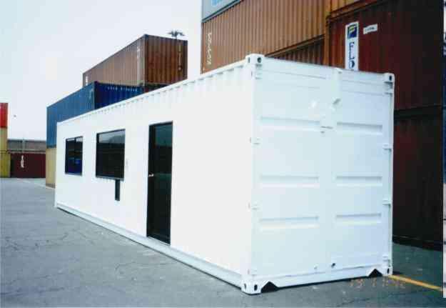 Venta de contenedores de 20st 40st 40hc modulos de for Contenedores de oficina