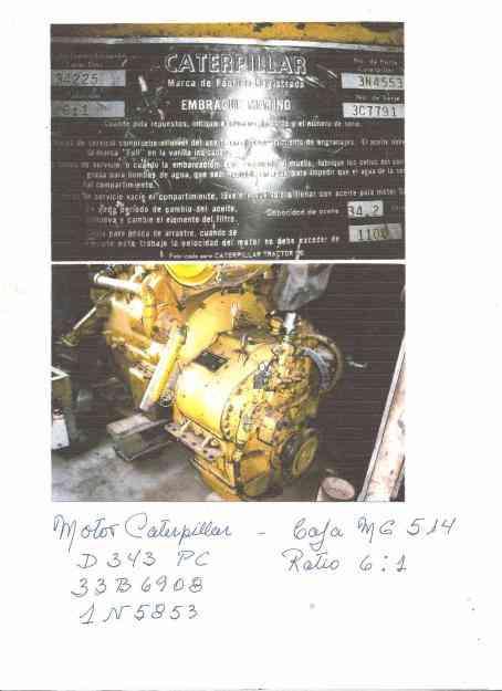 Motor y caja reductora