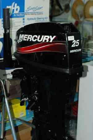 Motor Mercury 25 Hp.