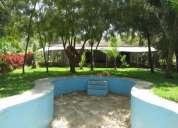 Venta de terreno frente al río - castilla / piura 31,851 m2 amplio terreno con 2 casas