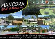 Venta de terreno para desarrollar proyecto en mÁncora (36.95 has.)
