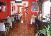 Traspaso bonito restaurant ubicado en zona estrategica