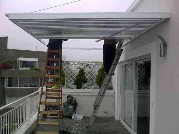 Techos metalicos techos de policarbonato techos de - Estructuras metalicas para terrazas ...