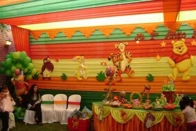 Decoraciones de winnie pooh y sus amigos  para fiestas infantiles - en lima