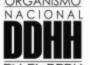Ddhh busca socio estratÉgico para llevar casos legales en todo el peru