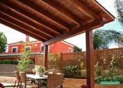 Empresa ofrece  sus servicios en madera, drywall, carpinterÍa metÁlica, etc.