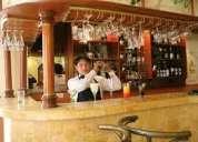 Barman ofrece sus servicios particulares para todo tipo de eventos