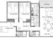 Alquiler de departamento 3 dormitorios en pueblo libre