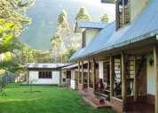 Se vende una propiedad con dos casas 1800 m2 en oxapampa-pasco