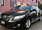 Alquiler de autos para matrimonios toyota corolla 2012