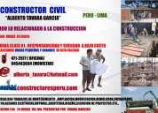 Maestro constructor (ver fotos y pagina web)