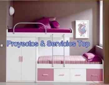 Juegos de dormitorio para ni os en melamina lima hogar for Juego de dormitorio para ninos